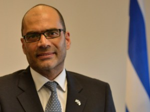 Dr. Dan Shaham, der Generalkonsul des Staates Israel