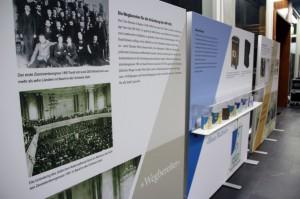 """JNF-KKL Ausstellung """"Die Geschickte eines grünen Israels"""""""
