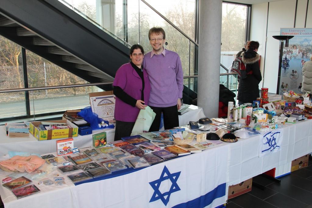 Aussteller am Israel Kongress des JNF-KKL