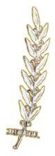 Goldener Olivenzweig