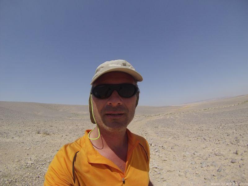 Christian Seebauer in der Negev