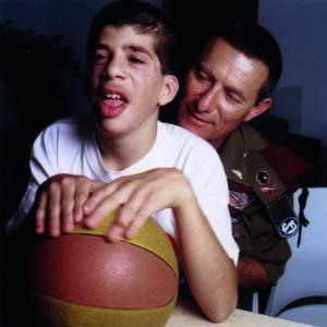 Doron Almog und sein Sohn Eran