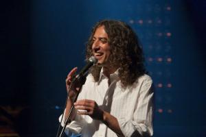 Der israelische Sänger und Schauspieler Moshe Becker