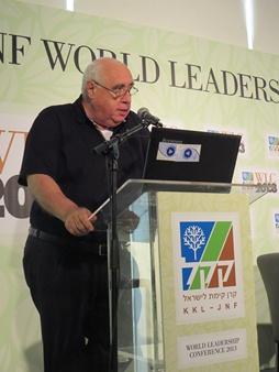 Beni Bloch, Präsident JNF-KKL e.V., Grußwort für Israel-Kongress-KKL.de: Natürlich für Israel Kongress 2015