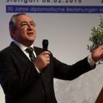 Arieh Mozes beim Natürlich für Israel Kongress, Stuttgart 2015