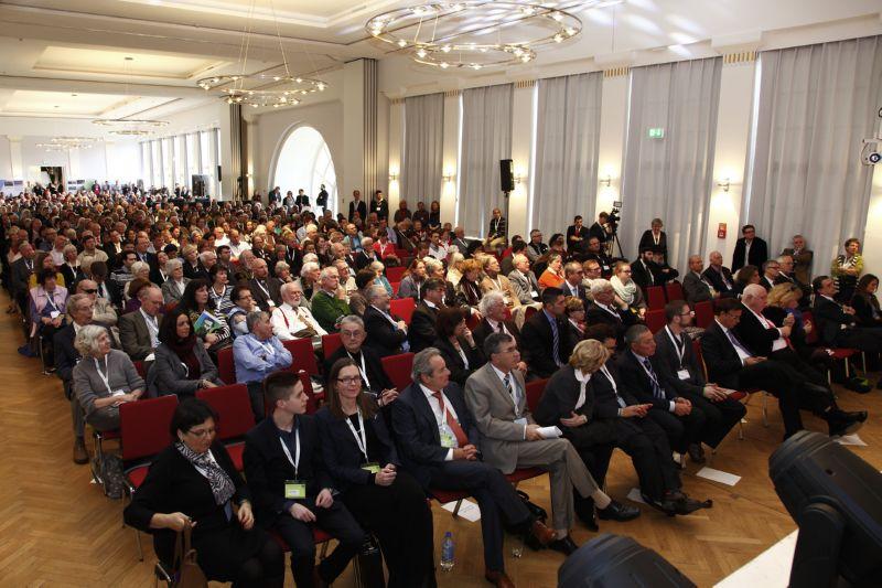 Israel Kongress Stuttgart 2015, Blick ins Publikum