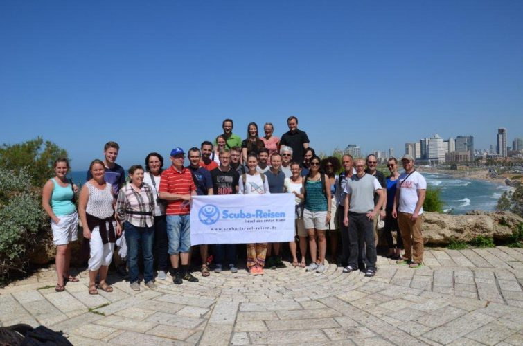 SCUBA Reisen am Israel Kongress des JNF-KKL