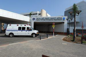Geschützte Vorfahrt beim Westlichen Galiläa Krankenhaus